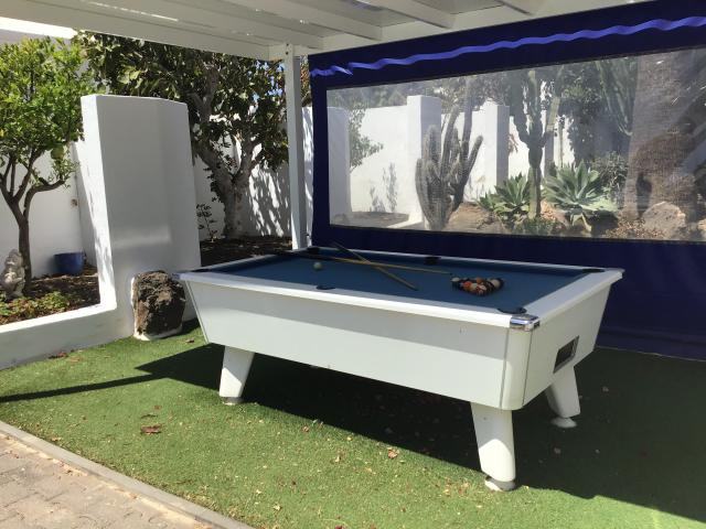 Villa Ani Lee 8 ball Pool table - Villa Ani Lee, Tias, Lanzarote