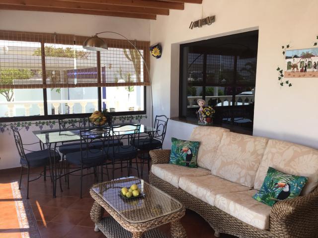 Villa Ani Lee Conservatory dining area - Villa Ani Lee, Tias, Lanzarote
