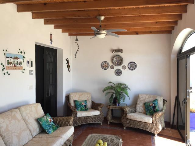 Villa Ani Lee Conservatory seating area - Villa Ani Lee, Tias, Lanzarote