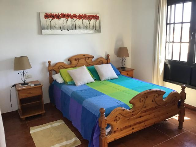 Villa Ani Lee Upstairs Double Bedroom - Villa Ani Lee, Tias, Lanzarote