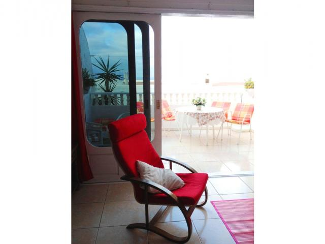 Relaxing armchairs - Lovely Seaview Apartment , Puerto del Carmen, Lanzarote