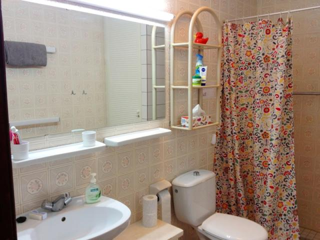 Bathroom with shower - Lovely Seaview Apartment , Puerto del Carmen, Lanzarote