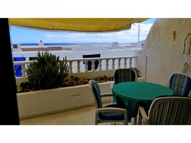 Seaview from the terrace - Nice Seaview Apartment, Puerto del Carmen, Lanzarote