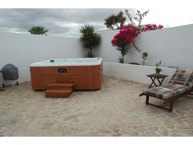 Terrace area - Casita Blanca, Nazaret, Lanzarote