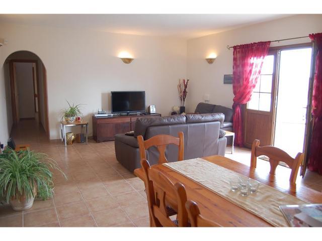 Lounge - Dining Area - Casita Blanca, Nazaret, Lanzarote