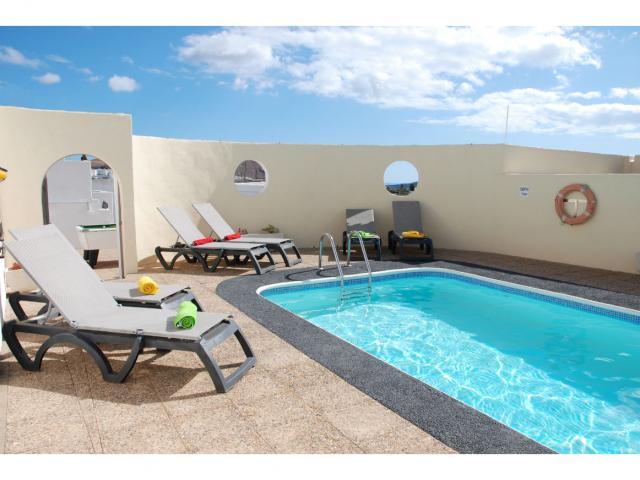 Pool Area - Villa Ann, Nazaret, Lanzarote