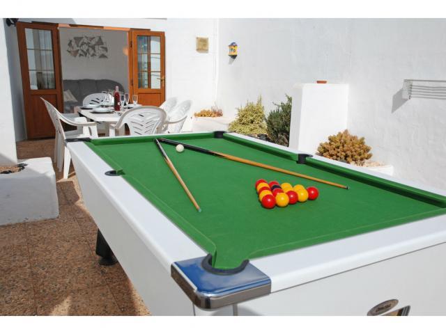 Pool Table - Villa Ann, Nazaret, Lanzarote