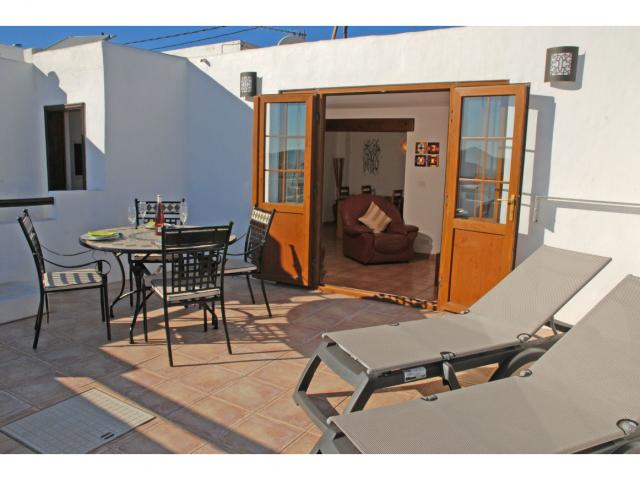 Terrace - Casa Ida, Nazaret, Lanzarote