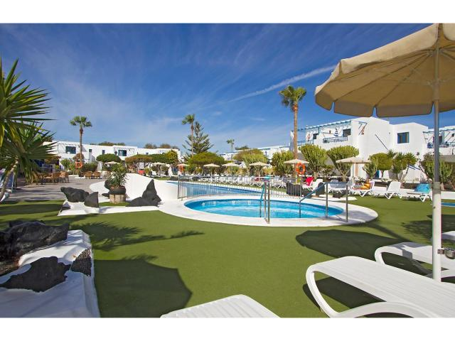 Our large sunbathing area - 1 Bed - Diamond Club Calypso, Puerto del Carmen, Lanzarote