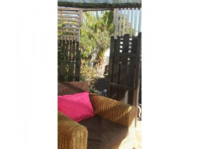 Picon Garden Entrance - Casa Perro, Matagorda, Lanzarote