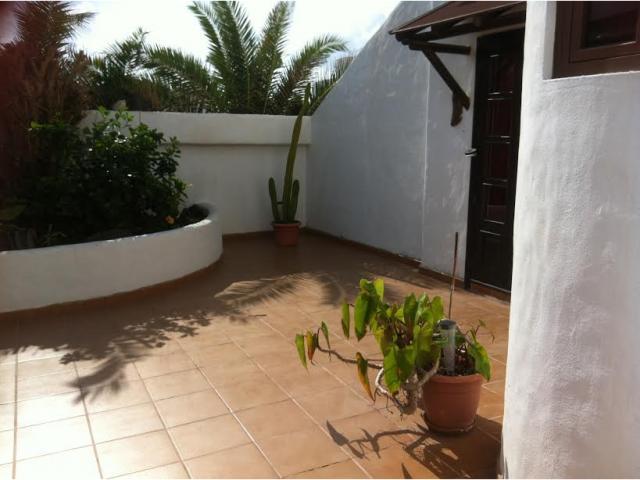 Front entrance - 3 bedroom villa apartment, Punta Mujeres, Lanzarote