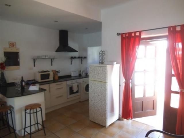 Kitchen area - 3 bedroom villa apartment, Punta Mujeres, Lanzarote