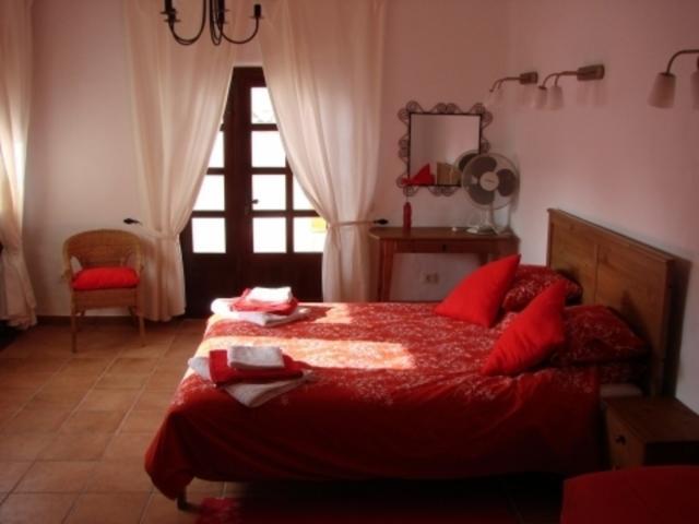 Master Bedroom - 3 bedroom villa apartment, Punta Mujeres, Lanzarote