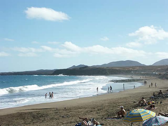 Local beach in Arrieta - 3 bedroom villa apartment, Punta Mujeres, Lanzarote