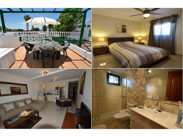 2 Bed Holiday Rental, Playa Park, puerto del carmen