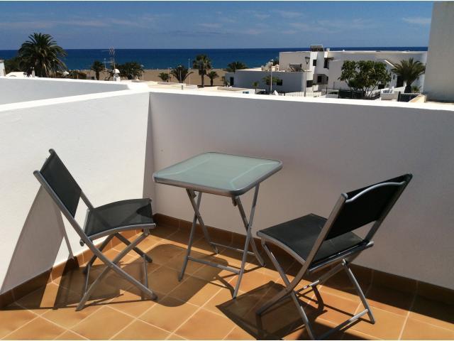 Seating area on top terrace - Calle Burgao, Puerto del Carmen, Lanzarote