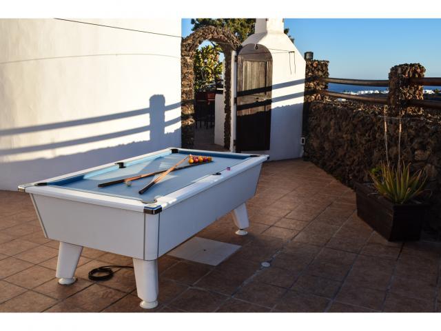 Pool table - Villa Kura, Puerto del Carmen, Lanzarote